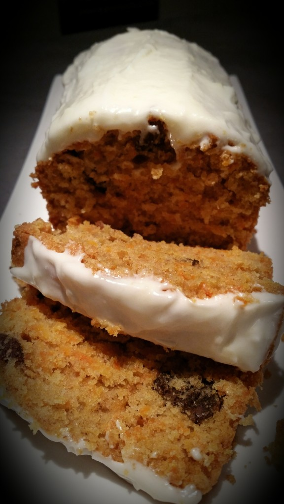 gâteau à la carotte et noix de pécan
