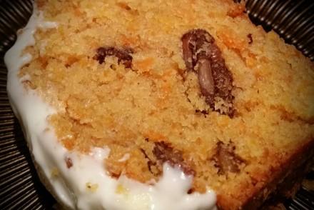 gâteau carotte et noix de pécan