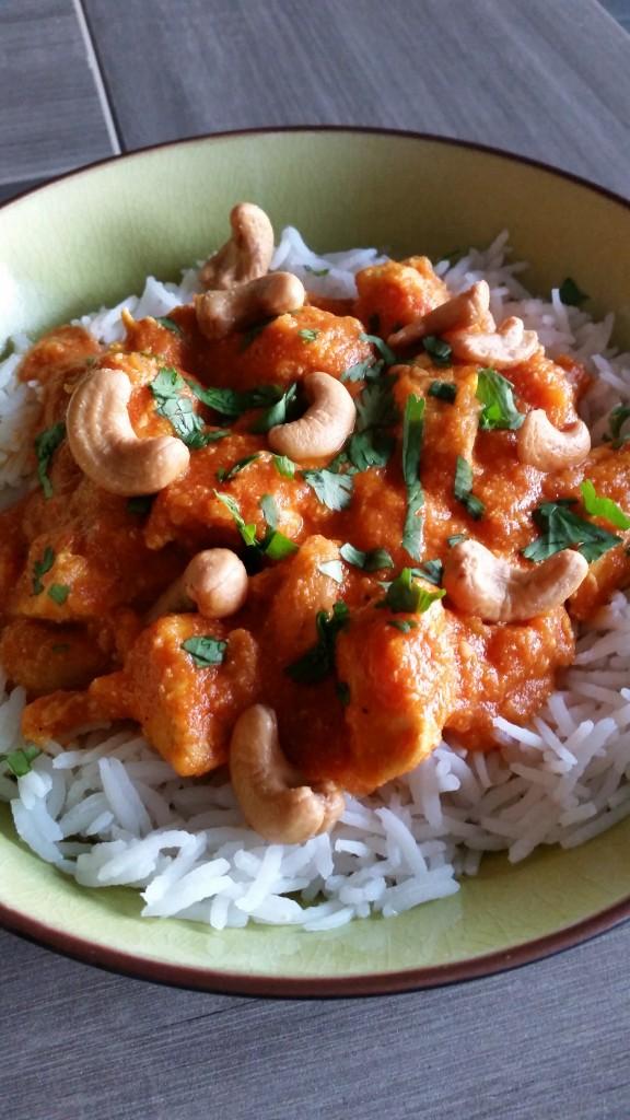 recette poulet tikka massala