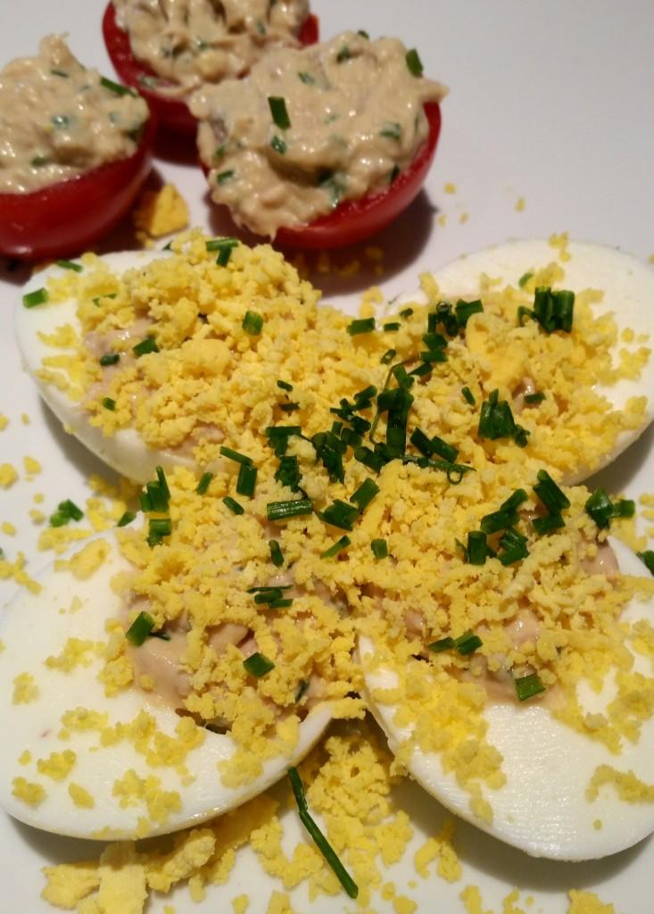 recette œufs farcis