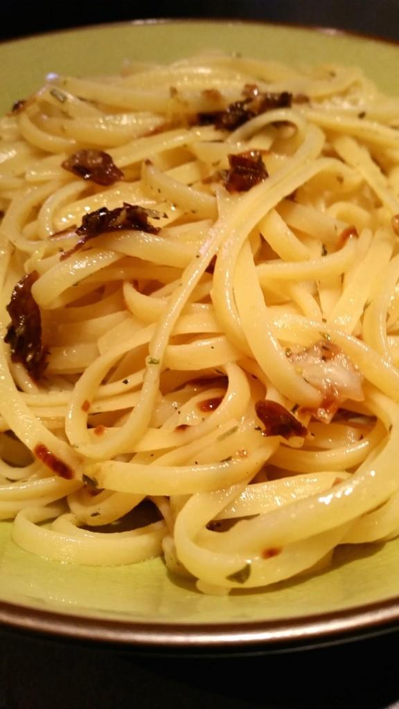 recette spaghetti citron
