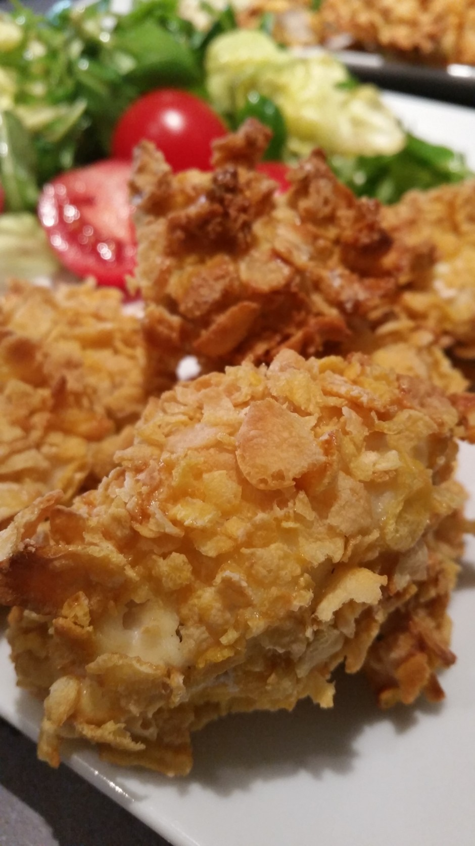 poulet pané croustillant