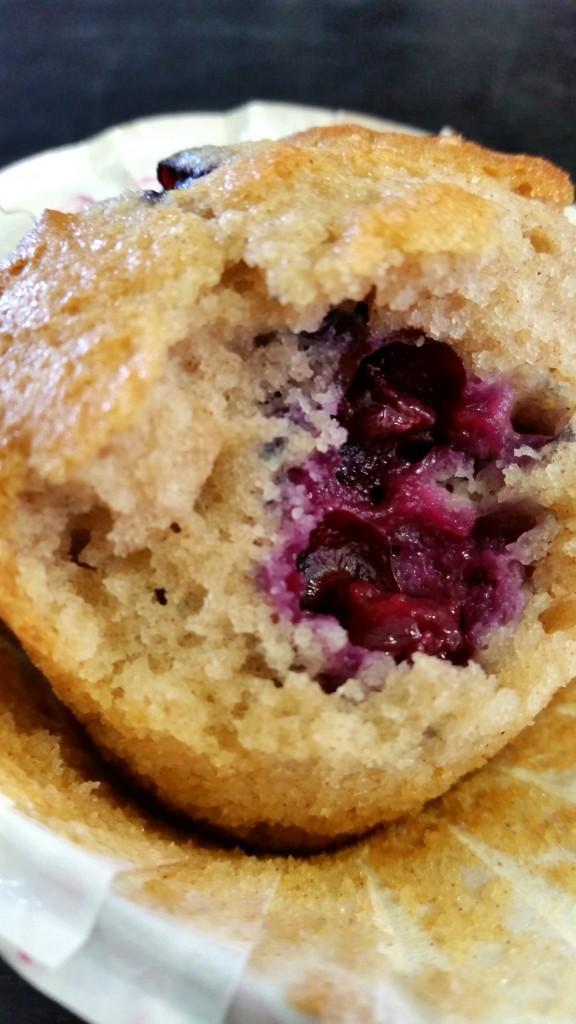 muffins aux myrtilles et graines