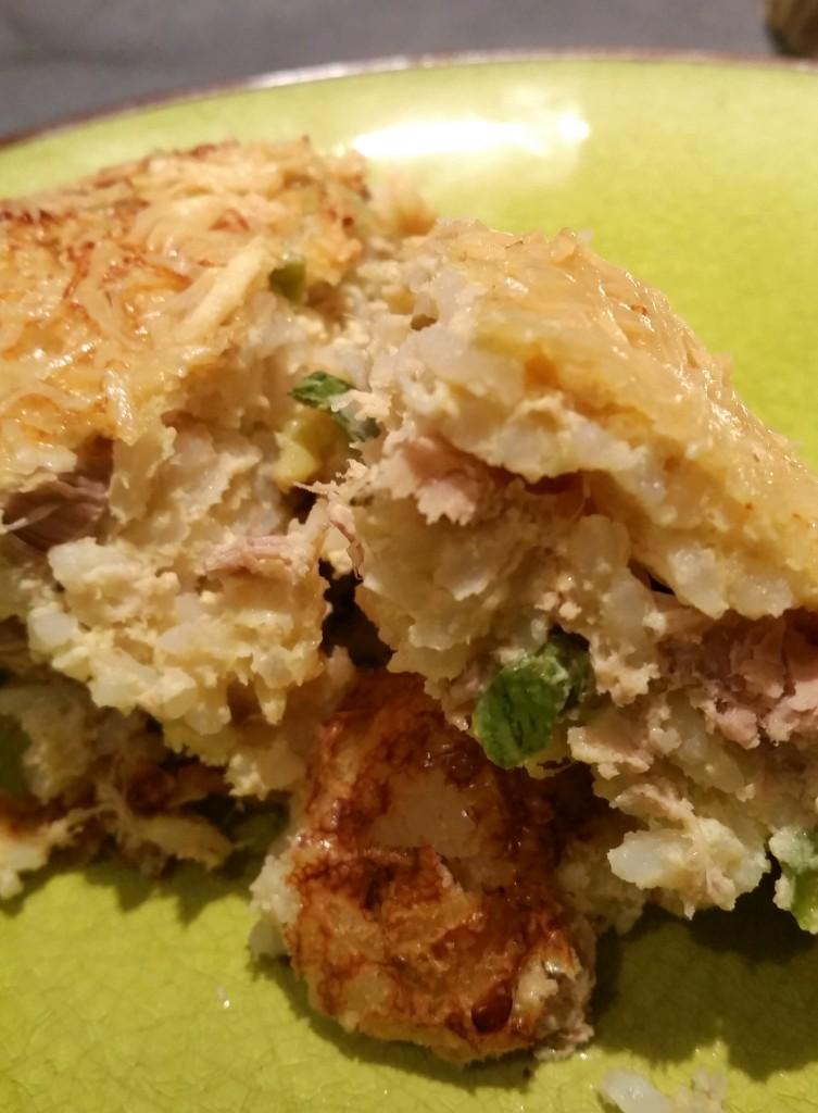 gratin de riz recette
