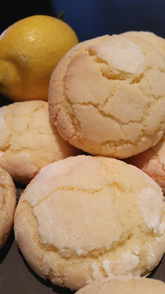 recette crinkles citron